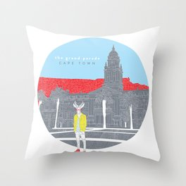 The Grand Parade, Cape Town Throw Pillow