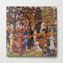 "Maurice Prendergast ""Autumn"" Metal Print"