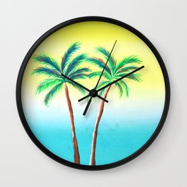Palm Porn Wall Clock