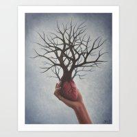 Nourishing Heart Art Print