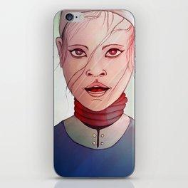 Work Girl iPhone Skin