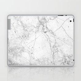 Nordic White Marble Laptop & iPad Skin