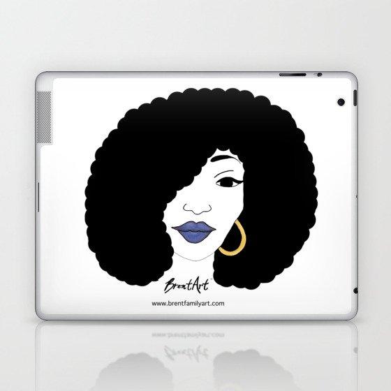 Black Girl Magic Laptop & iPad Skin