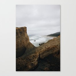 Oregon Coast Beach Canvas Print
