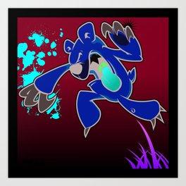 """illsurge : """"When Cute Bears Attack"""" Piece Art Print"""