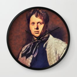 Dylan Thomas, Literary Legend Wall Clock