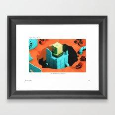 POP HELL #5 Framed Art Print