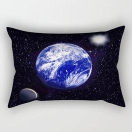 The blue Planet. Rectangular Pillow