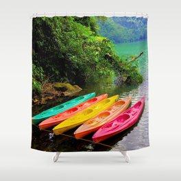 Kayak Shower Curtain
