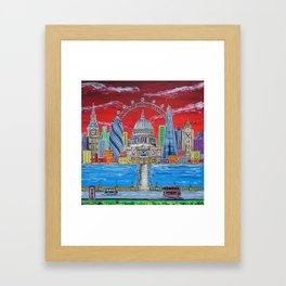 Towers of London Framed Art Print