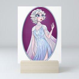 20s Fashun H Mini Art Print