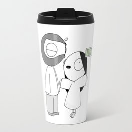 Jhon And Catana Travel Mug