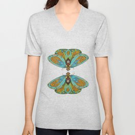 butterfly (ORIGINAL SOLD). Unisex V-Neck