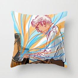 Dave Brubeck Throw Pillow