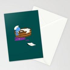 SUICIDAL SMURF  Stationery Cards
