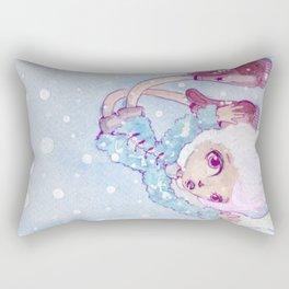 Snow Rectangular Pillow