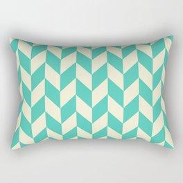 Turquoise Directions Rectangular Pillow