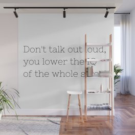 Don't talk - Sherlock - TV Show Collection Wall Mural
