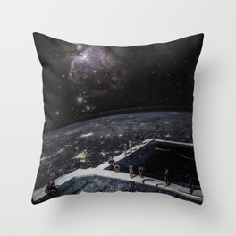The Stars Hotel Throw Pillow
