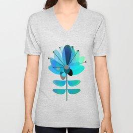 Die Blaue Blume Unisex V-Neck