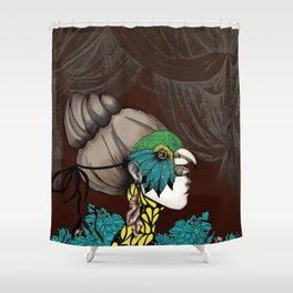 Sur un Air de Musette Shower Curtain