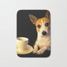 Tea Time with Puppy Bath Mat