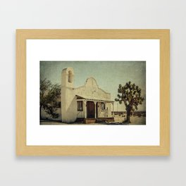 The Sanctuary Adventist Church a.k.a The Kill Bill Church Framed Art Print