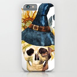 Skull 05 iPhone Case