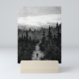 Into the Woods Theodor Kittelsen Mini Art Print