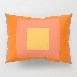 Warm Orange Pillow Sham