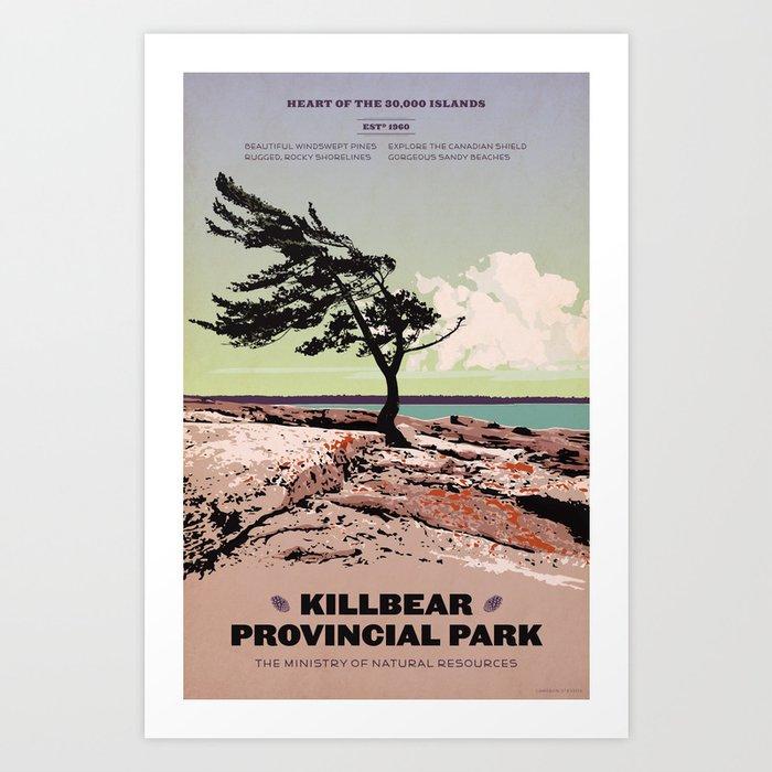 Killbear Provincial Park Kunstdrucke