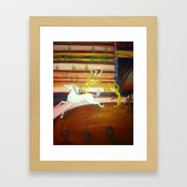 At the Circus Framed Art Print