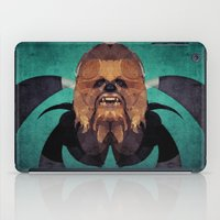 chewbacca iPad Cases featuring Chewbacca by lazylaves