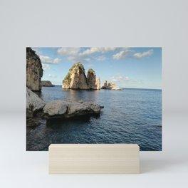 Sea Stacks Mini Art Print