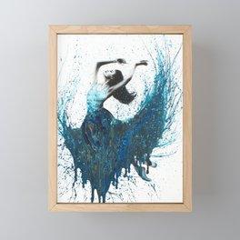 Ocean Gem Dance Framed Mini Art Print