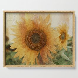 sunflower Serving Tray