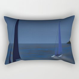 May on a Fast Lane - shoes stories Rectangular Pillow
