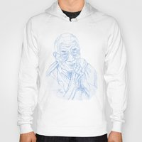 lama Hoodies featuring dalai lama by jeroy94