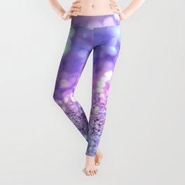 Summer Unicorn Girls Glitter #2 #shiny #pastel #decor #art #society6 Leggings