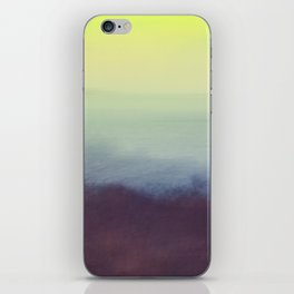 Coastal Landscape Abstract iPhone Skin