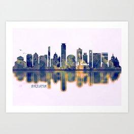 Brescia Skyline Art Print