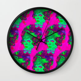 Where is my cake? / Marie Antoinette Wall Clock