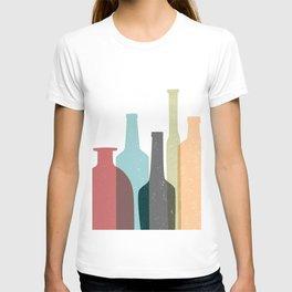 BOTTLES poster T-shirt