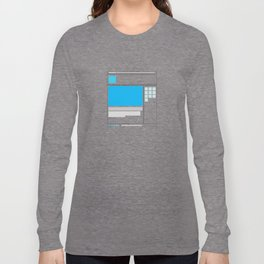 sketching Long Sleeve T-shirt