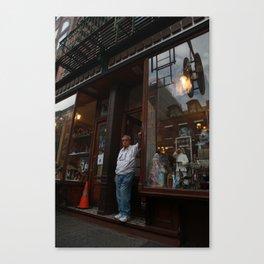 Shopkeeper Canvas Print