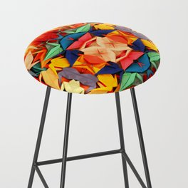 Senbazuru rainbow Bar Stool