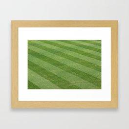 Play Ball! - Freshly Cut Grass - For Bar or Bedroom Framed Art Print