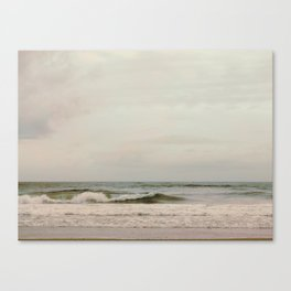 Cloudy Daydreaming by the Sea Canvas Print