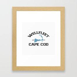 Wellfleet, Cape Cod Framed Art Print
