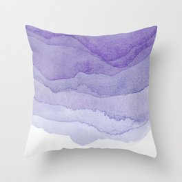 Lavender Flow Throw Pillow